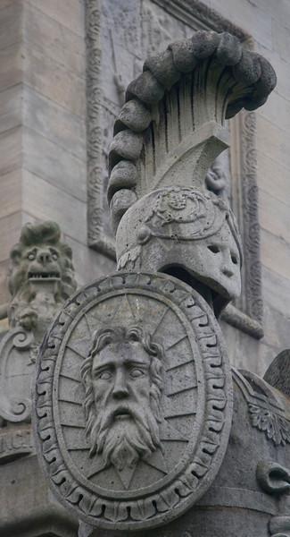 Detail at Brock Monument