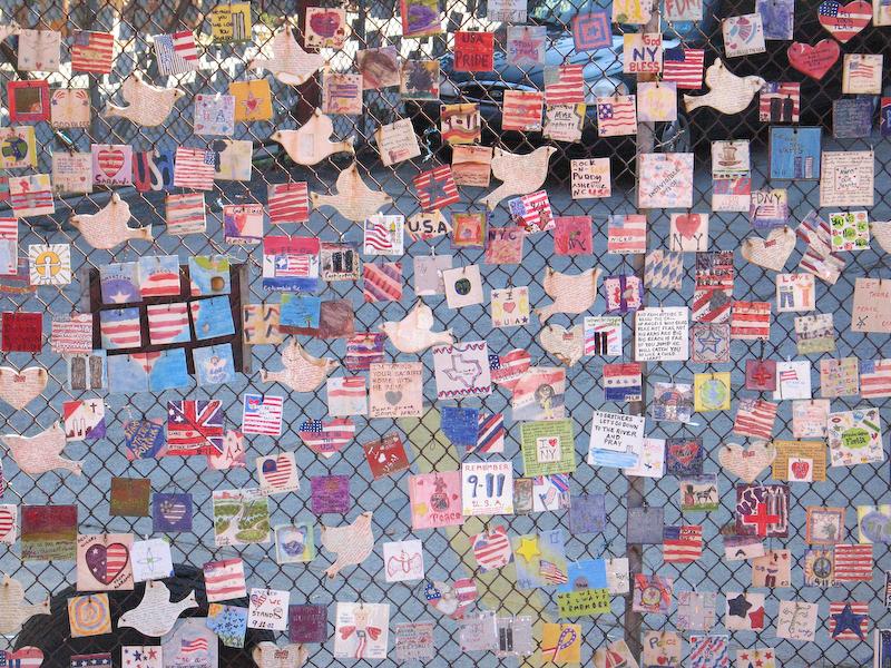 Memorial Near Ground Zero-New York City