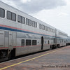 Southwest Chief at our destination in Lamy, NM.