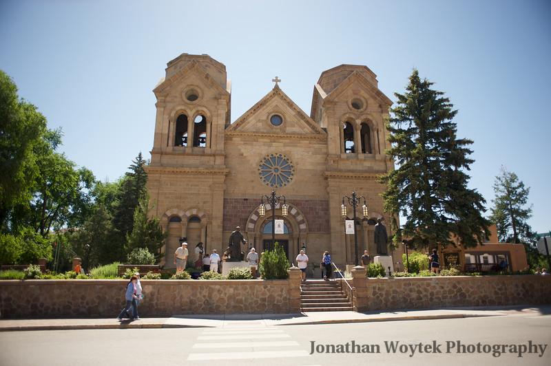 Basilica of St. Francis of Assisi in Santa Fe, NM.