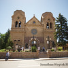 Basilica of St. Francis of Assisi in Santa Fe, NM.