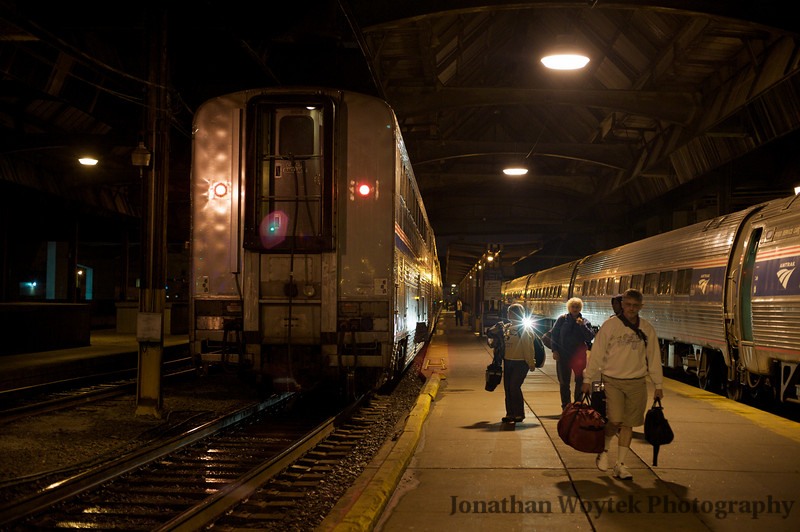 Capitol Limited at our destination, Pittsburgh, PA.