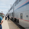 Shots from the Southwest Chief as we traveled back to Chicago to meet the Capitol Limited home.