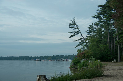 View of Silver Lake from the Campground beach.