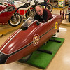Replica shell of The World's Fastest Indian