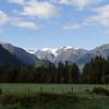 The peak above Franz Josef Glacier