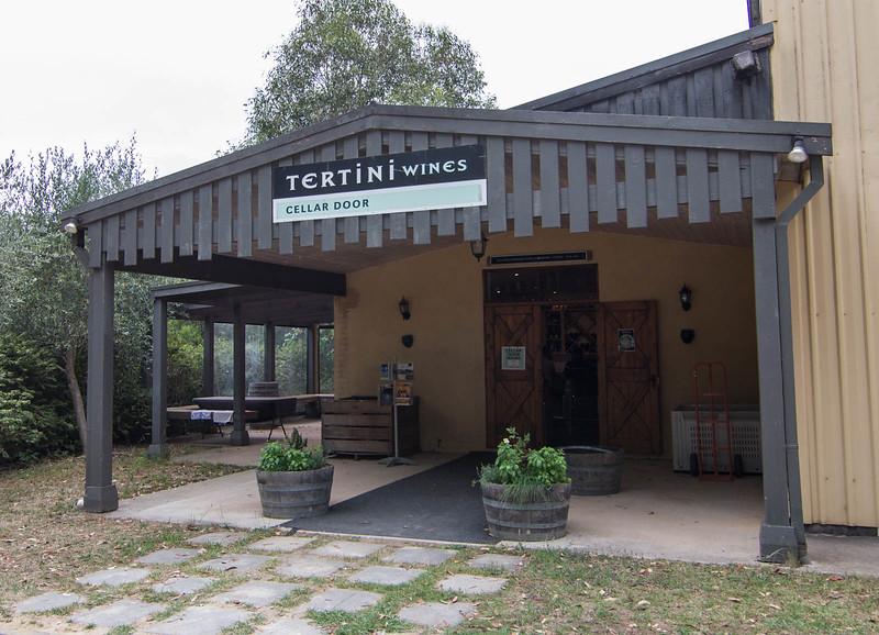 On the job at Tertini Wines