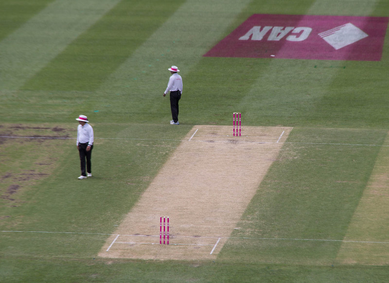 Umpires at the Wicket