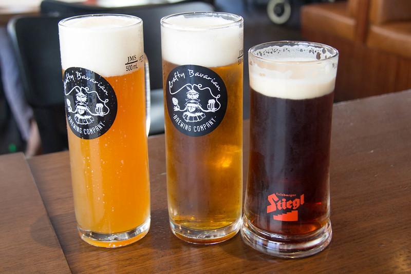 Lunch at Bavarian Bier Cafe