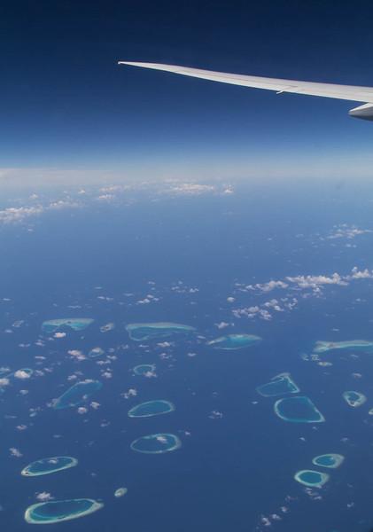 Maldive atolls