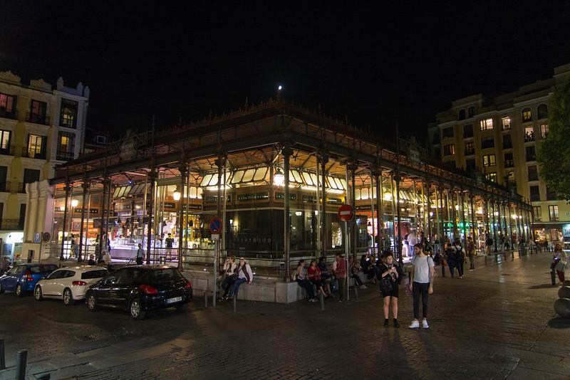 Madrid at night