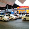 Taxis galore at Madrid train station
