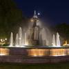 Fountain near hotel