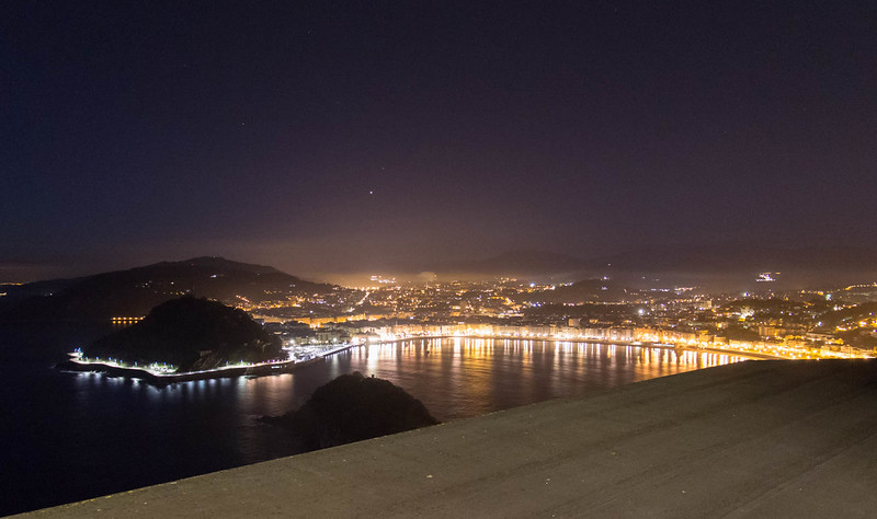 San Sebastian before dawn