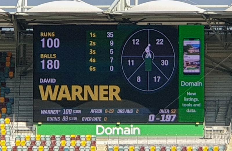 Brisbane Test Day 2