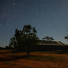 Southern Cross over Shearing Shed
