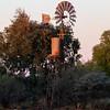 Windmill near creek