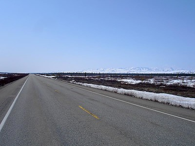AK-3 to Denali/Fairbanks. Tree line: 2000'.