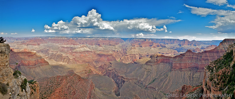 Grand Canyon, Arizona. 7 image panoramic stitch