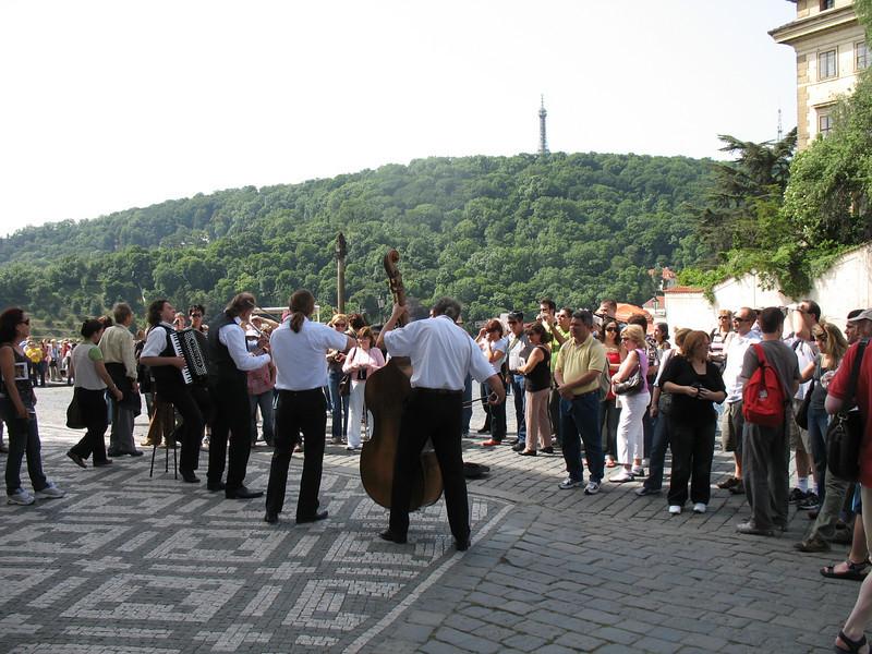 Musicians - Courtyard Prague Castle