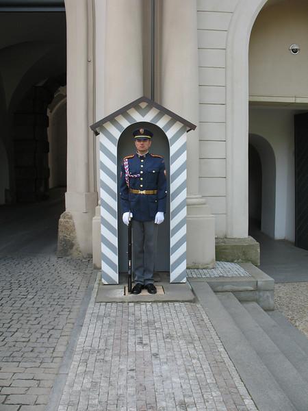 Guard at Prague Castle