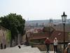 Prague Castle - View of city