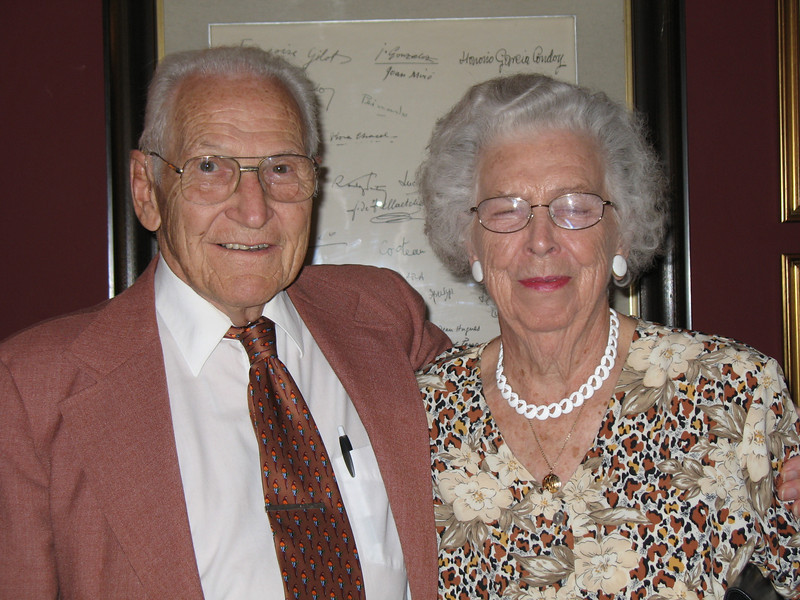 Russ and Joan (Hoffmeister Lobby)