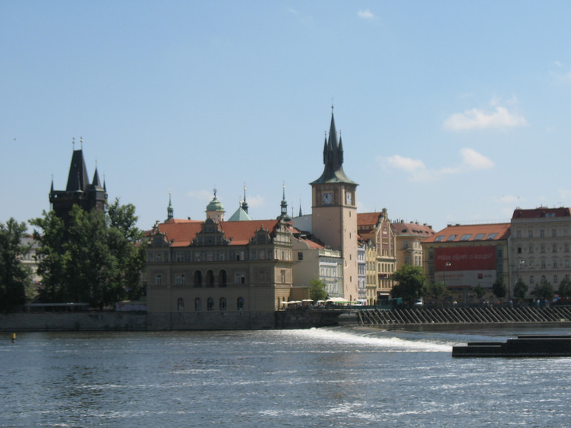 Very old buildings along the River