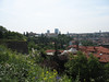 View of Prague as seen from the Vysehrad fortress