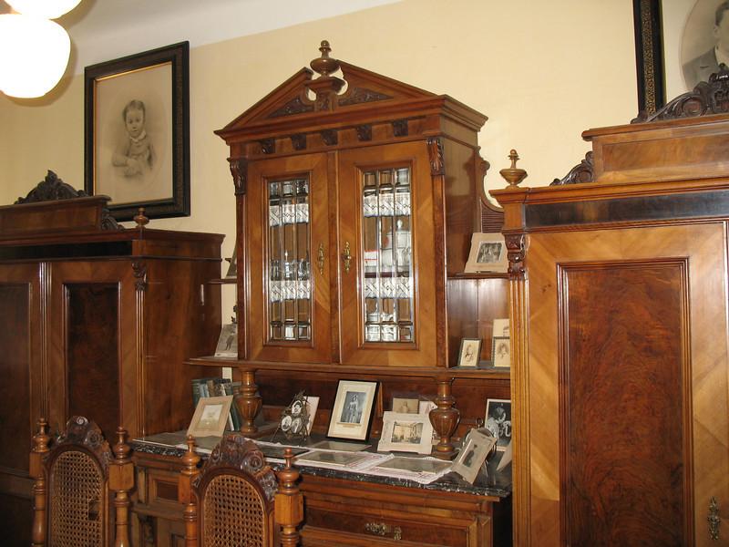Furniture in Antonin's bedroom