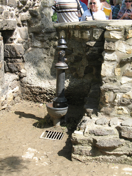 Antique pump at the Vysehrad Fortress