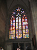 Stained glass window - St. Vitus Cathedral