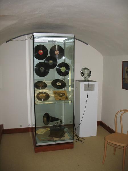 Old type records of Dvorak's music