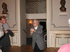 Champagne with our wonderful guide, Pavel Ondrusak,  before our Backstage tour of the Estate Theatre (June 3, 2008)