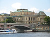 Rudolfinum from the bank of the river