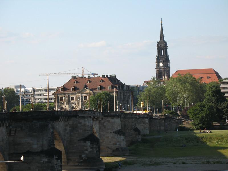 Old stone bridge - Dresden
