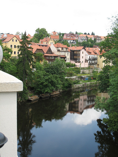 Houses along the Vltava River