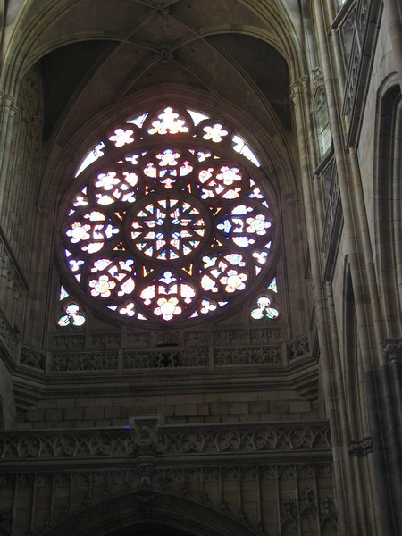 Rose Window - St Vitus Cathedral