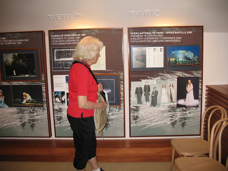 One of the museum displays
