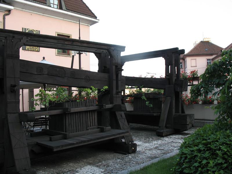 Grape presses, Hoffmeister Patio