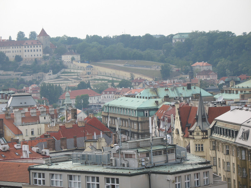 Rooftops as seen from Old Town Hall