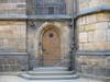 Very old door - Prague Castle