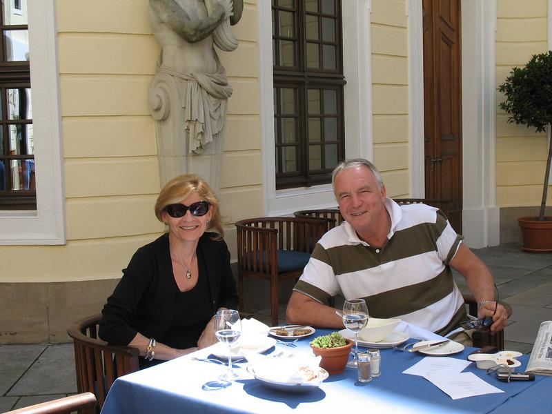 Jirina and Emil - Intermezzo restaurant