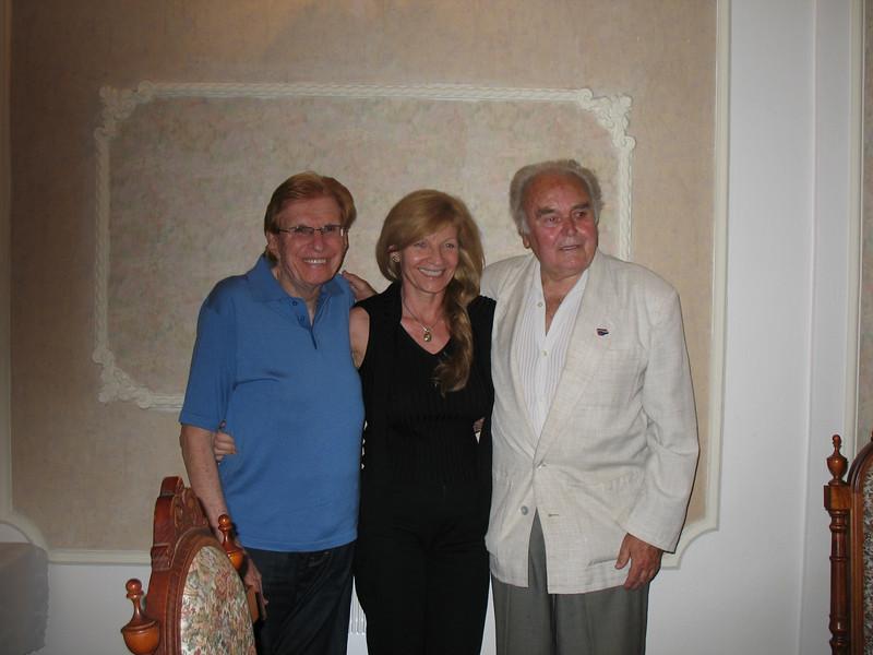 Michael and Jirina with Antonin III