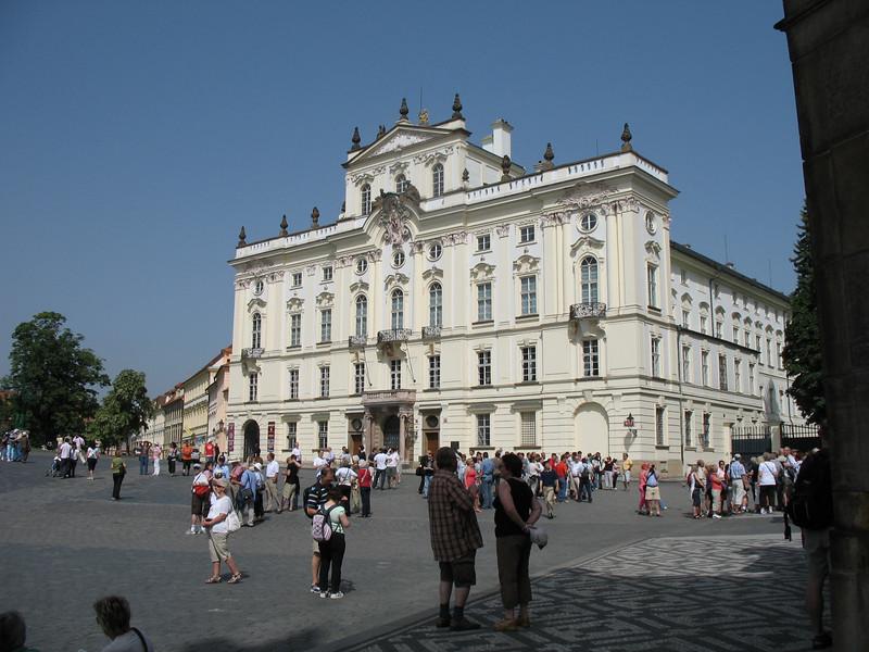 Archbishop's Palace - Prague Castle grounds