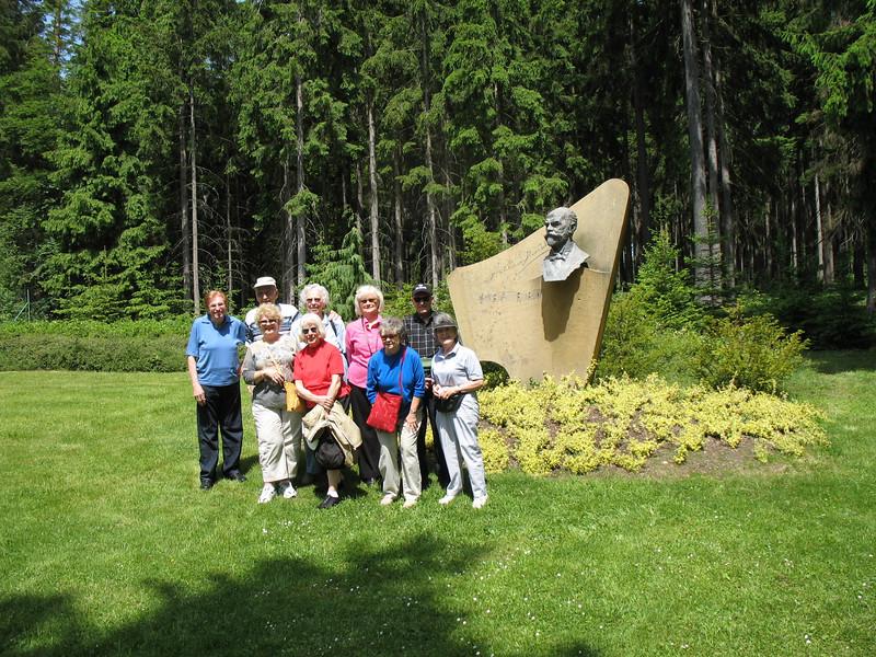 Group at Antonin Dvorak Memorial