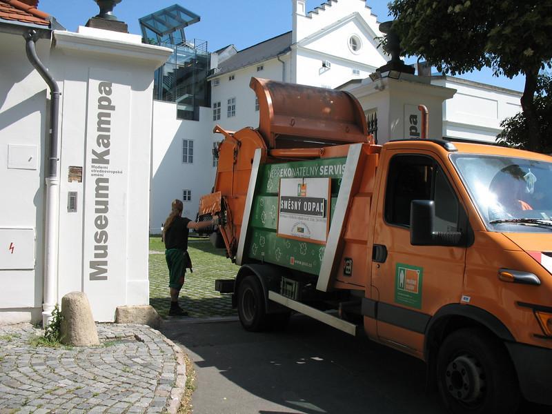 Prague's version of Waste Management