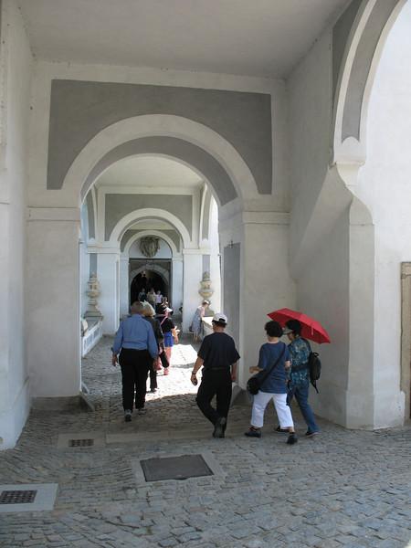 Walkway in the Castle