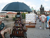 Vendors on Charles Bridge