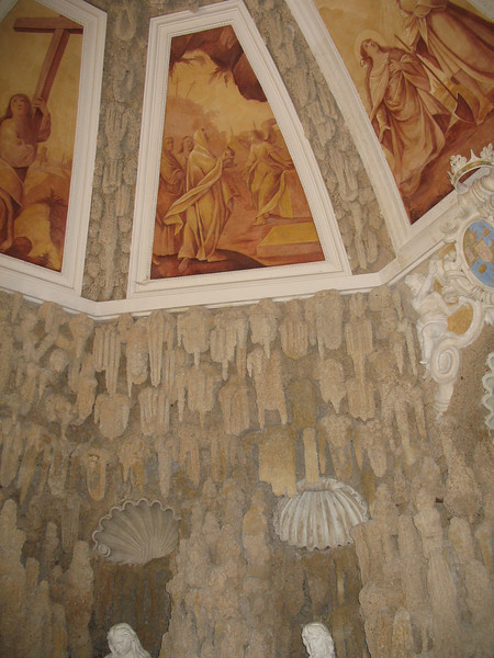Ceiling in the Grotto